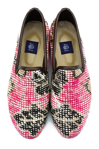 Res Ipsa Hand-Knotted Rug Loafers