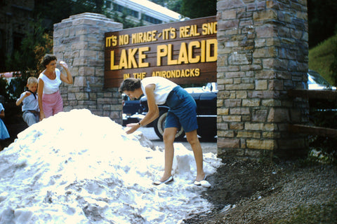 Lake Placid Artifical Snow