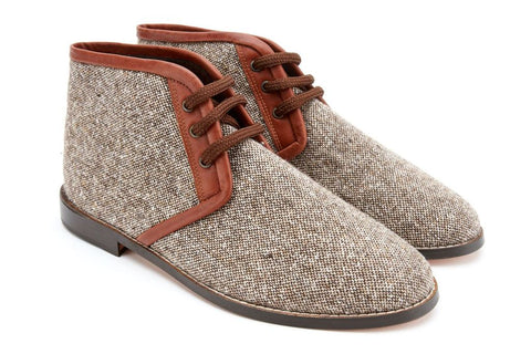 Men's Donegal Tweed Chukka Boots