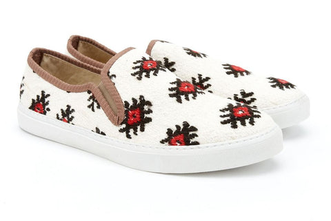Res Ipsa men's kilim sneakers