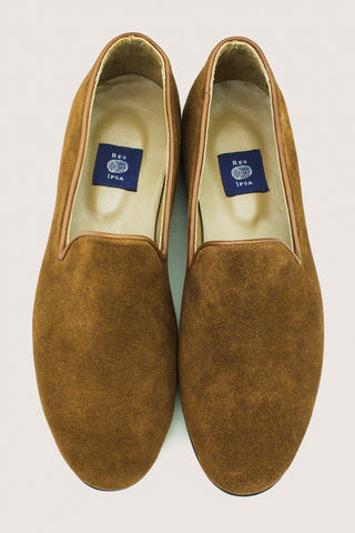 Res Ipsa Snuff Suede Loafers