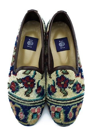 Women's 'Hand-knotted' Rug Loafers