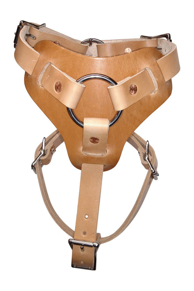 Dog Harness Premium Leather for Walking and Easy Training