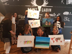 Paint Cabin Paint Party