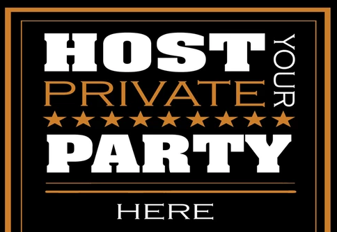 Host your Private Event Here