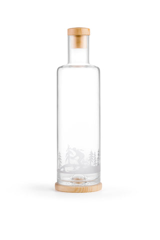 ND Glasflasche ALPINE Edition (1L) / PINUS CEMBRA