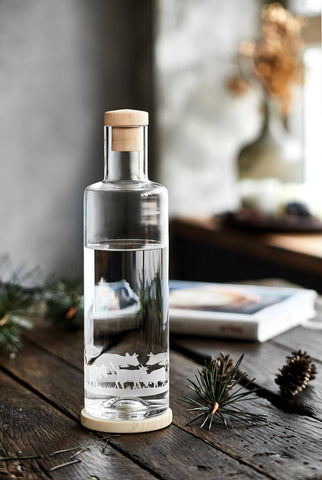ND - ALPINE Edition Glasflasche (1L)