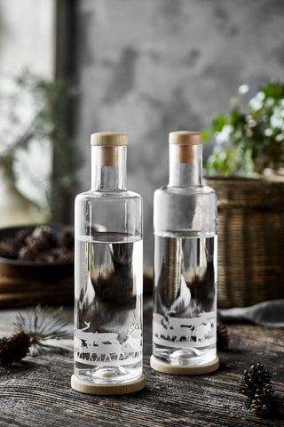 Image of ND Glasflasche ALPINE Edition (1L) / PINUS CEMBRA