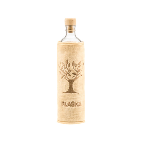 FLASKA Glasflasche NATURAL ECO (5dl)