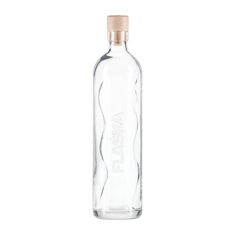 Image of FLASKA Glasflasche / NAKED