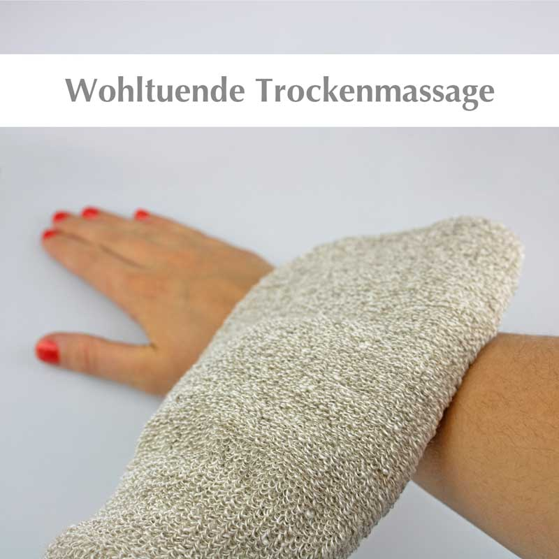 SARENIUS Spa Massageartikel (Band/Handschuh)