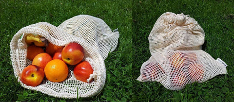 Image of RE-SACK Shopping Bags (Bio Cotton) / 2er Sets