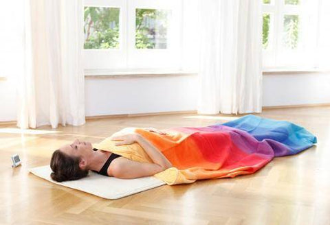 "YOGISTAR® Decke ""Rainbow"""