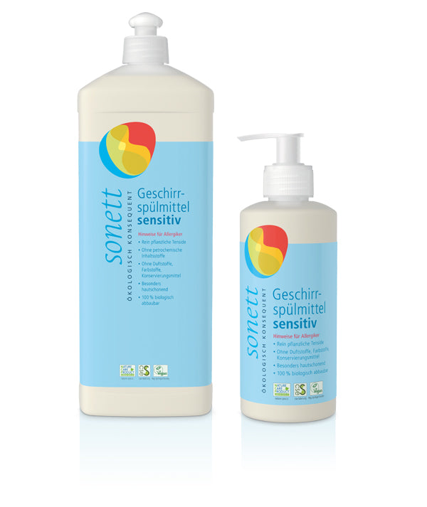 SONETT Geschirrspülmittel SENSITIVE (300ml/1000ml)