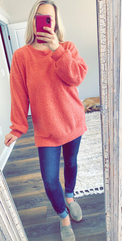 Rose Pink Sweatshirt