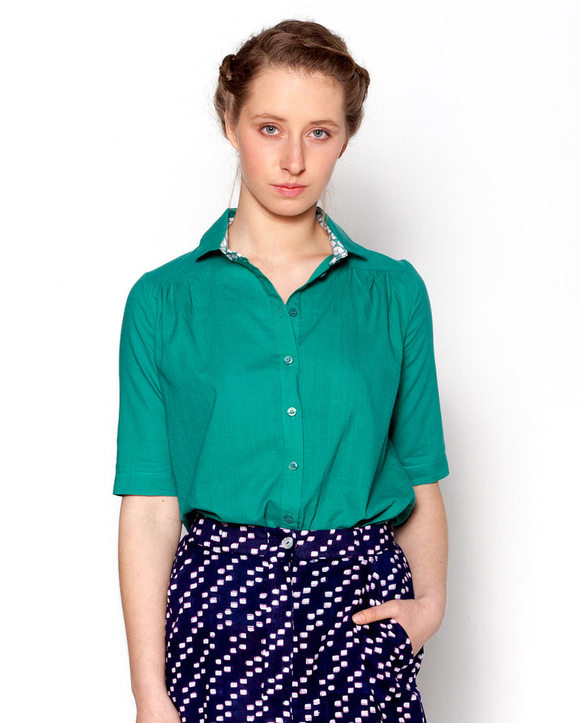 Emma Top / Emerald Green