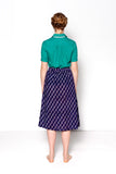 Mia Skirt / Midnight Blue Dots