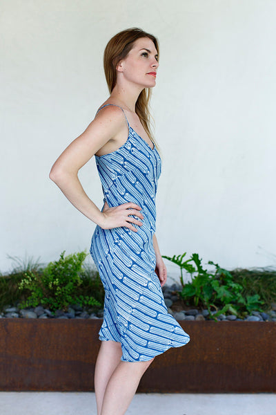 Slip Dress / Indigo