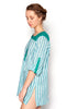 Varynia Tunic / Blue Green Check