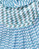 Rebecca Dress / Blue Green Check