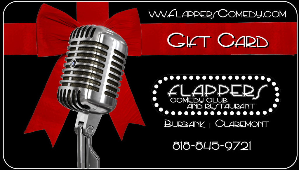 Flappers Gift Card $50.00