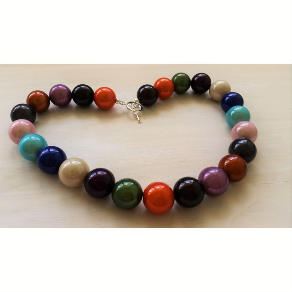 Rainbow Miracle Bead Necklace