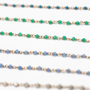 Luz Emerald Beaded Bracelet