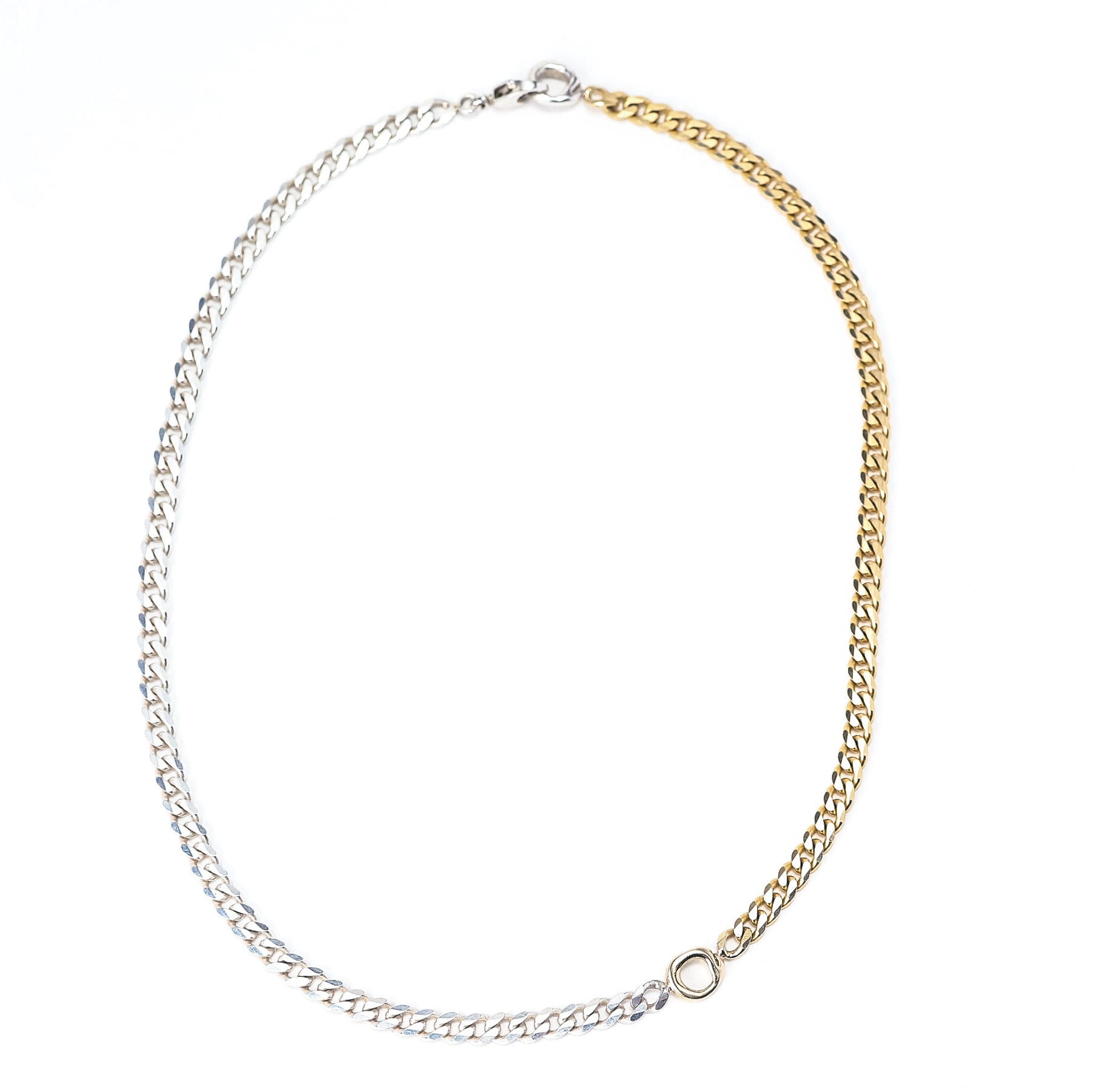 DUO Curb Chain Necklace