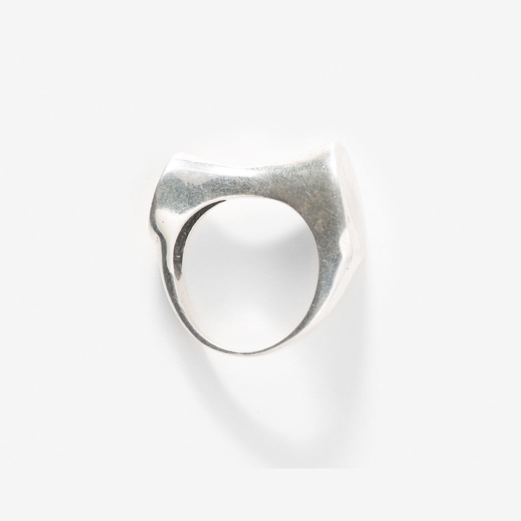 Bowdie Silver Ring
