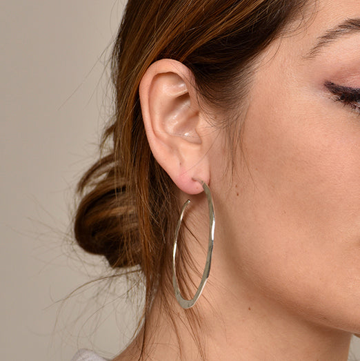 Large Ripple Hoops
