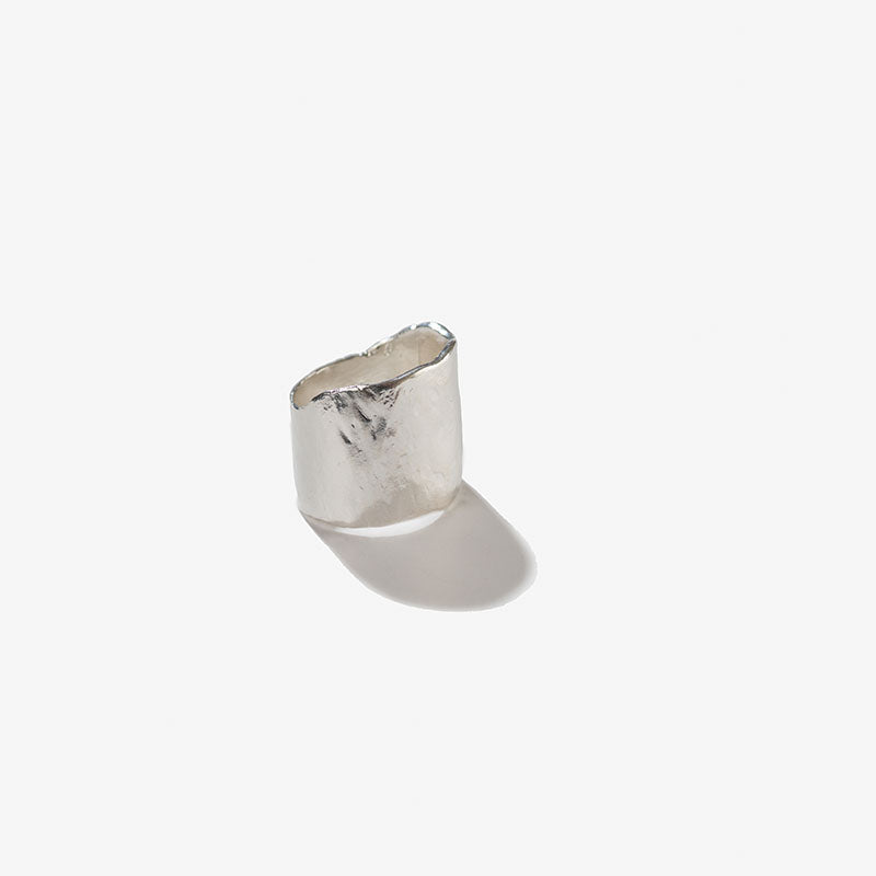 Sterling Silver Ogee Ring