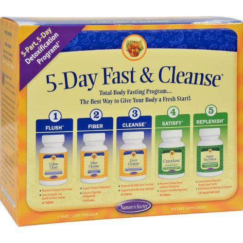 Nature's Secret Ultimate Fasting Cleanse - 1 Kit - Watchesfixx Cleansing and detox