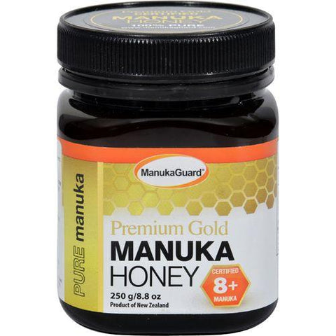 Manukaguard Premium Gold Manuka Honey 8+ - 8.8 oz - Watchesfixx Natural supplements