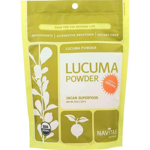 Navitas Naturals Lucuma Powder - Organic - 8 oz - case of 6 - Watchesfixx Single herb supplements