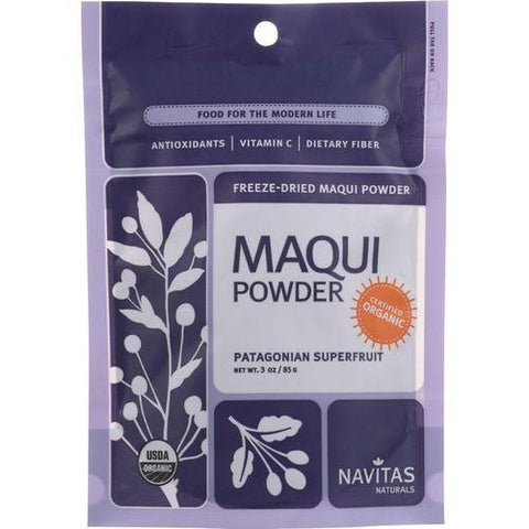 Navitas Naturals Maqui Powder - Organic - Freeze-Dried - 3 oz - case of 6 - Watchesfixx Single herb supplements