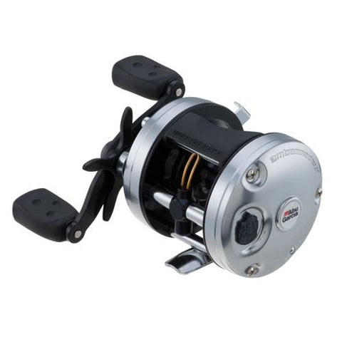 "Ambassadeur C3 Baitcast Round Reel 5500, 5.3:1 Gear Ratio, 4 Bearings, 26"" Retrieve Rate, 15 lb Max Drag, RH - Watchesfixx Reels, casting"