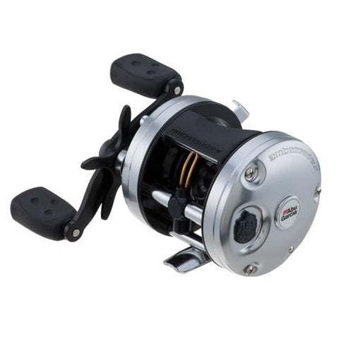 "Ambassadeur C3 Baitcast Round Reel 4600, 5.3:1 Gear Ratio, 4 Bearings, 26"" Retrieve Rate, 15 lb Max Drag, RH - Watchesfixx Reels, casting"
