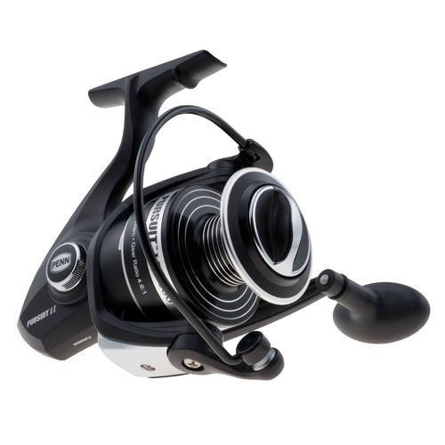 "Pursuit II Spinning Reel Reel 6000, 4.6:1 Gear Ratio, 27"" Retrieve Rate, 20 lb Max Drag, Ambidextrous, Boxed - Watchesfixx Reels, spinning"