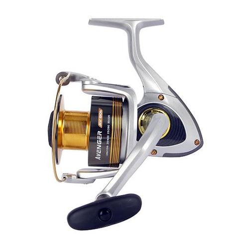 "Avenger B Series Reel 4.8:1 Gear Ratio, 6BB + 1RB Bearings, 22 lb Max Drag, 40"" Line Retrieve - Watchesfixx Reels, spinning"