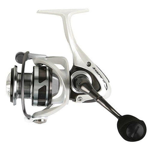 "Inspira Spinning Reel 5.0:1 Gear Ratio, 8BB + 1RB, 13 lb Max Drag, 296"" Line Retrieve, White - Watchesfixx Reels, spinning"
