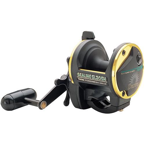 Sealine SL-H Saltwater Conventional Reel Size 20, 6.1:1 Gear Ratio, 4BB Bearings - Watchesfixx Reels, casting