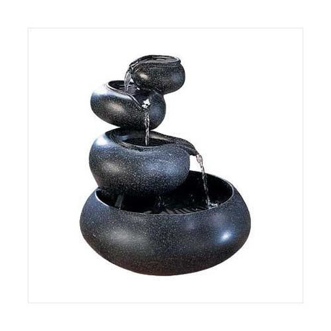 Four Tier Tabletop Fountain (pack of 1 EA) - Watchesfixx Indoor water fountains