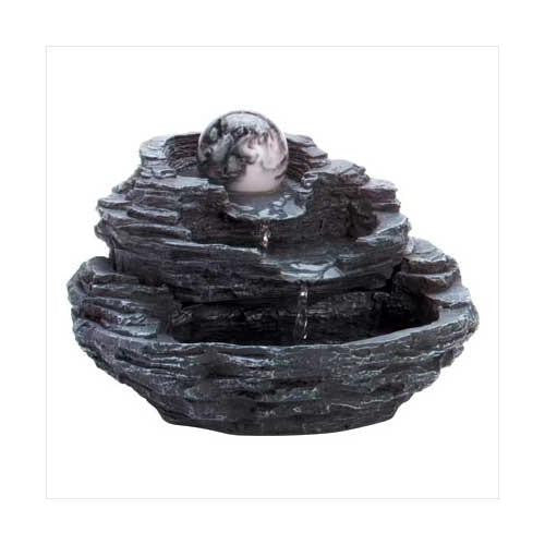 Rock Design Tabletop Fountain (pack of 1 EA) - Watchesfixx Indoor water fountains