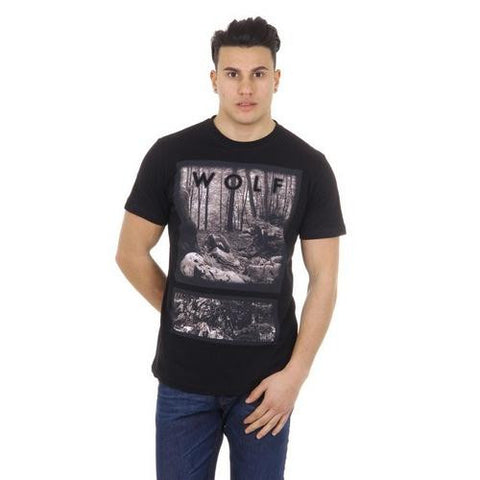 Diesel mens t-shirt T-URBI 00SC3X 0EADQ 900 - Watchesfixx MEN