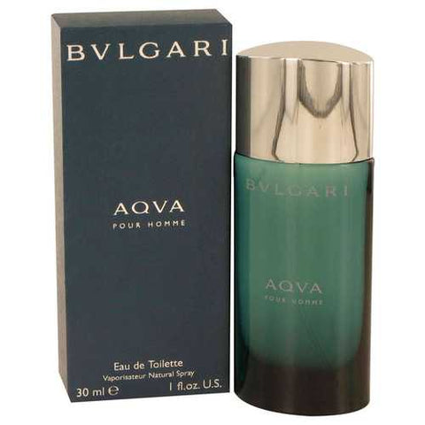 AQUA POUR HOMME by Bvlgari Eau De Toilette Spray 1 oz (Men) - Watchesfixx Bvlgari