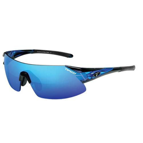 Tifosi Podium XC Interchangeable Sunglasses - Clarion Mirror Collection - Crystal Blue - Watchesfixx Sunglasses,paddlesports