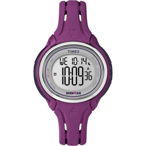 Timex Ironman Sleek 50-Lap Mid-Size Watch - Plum - Watchesfixx Fitness / athletic training,outdoor