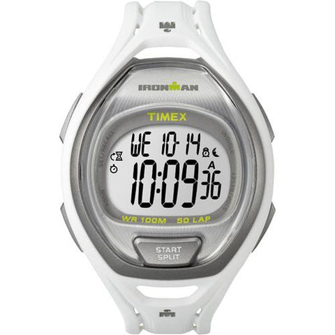 Timex IRONMAN&reg Sleek 50 Full-Size Watch - White - Watchesfixx Fitness / athletic training,outdoor