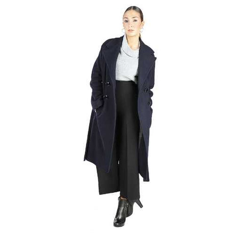 Gender: Women<br />Color: Blue<br />fontana 2.0 coat<br />- 100% made in italy<br />- double-breasted coat<br />- 4 buttons<br />- 2 external pockets, coat belt<br />- composition:  70% wool, 20% viscose, 10% polyester<br />- do not wash - Watchesfixx Coats
