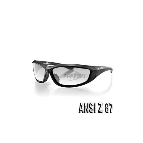 Charger Sunglass, Blk Frame, Anti-fog Clear Lens, ANSI Z87 - Watchesfixx CHARGER